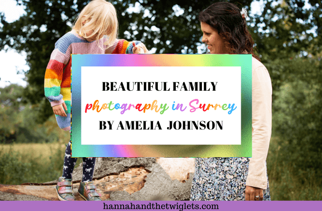 Family photography in Surrey with Amelia Johnson