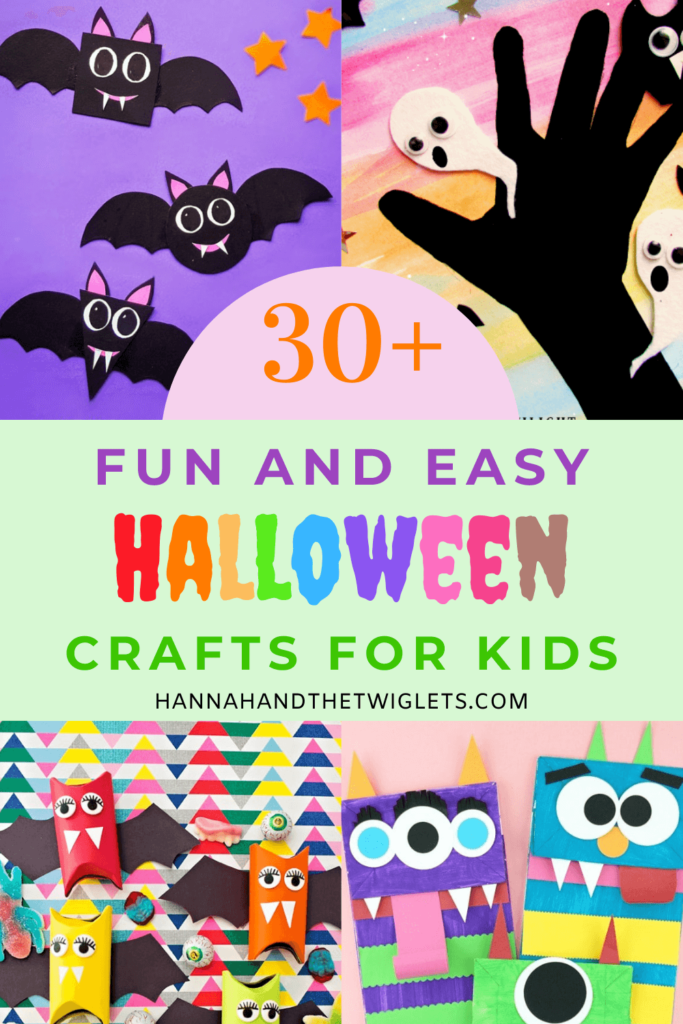 Fun and easy Halloween craft ideas for kids Pinterest