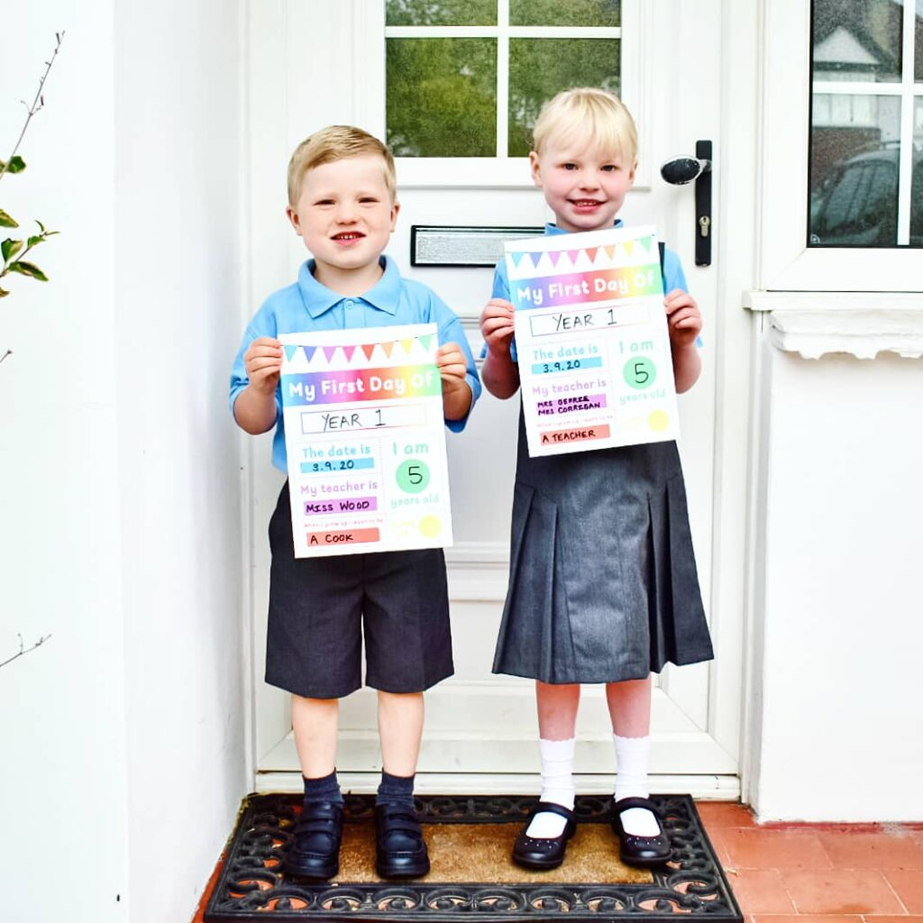 Twiglets first day of Year 1