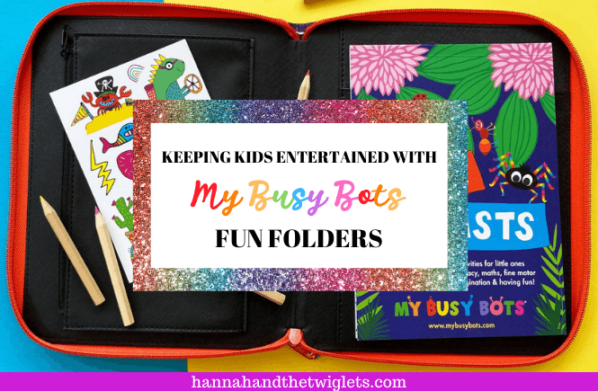 My Busy Bots Fun Folders review